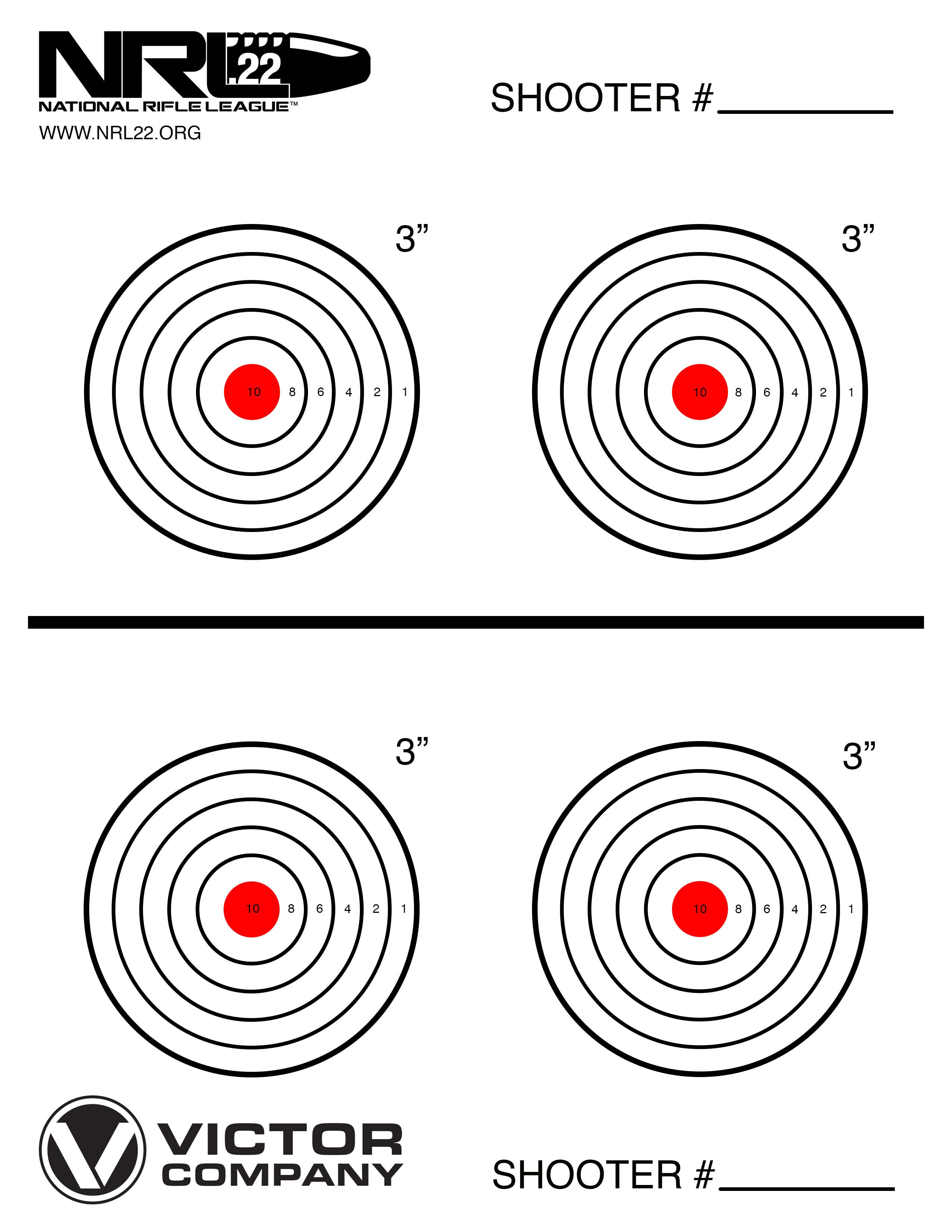 This is a graphic of Witty 22 Targets Printable