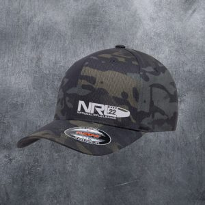 NRL22 BLACK MULTICAM FLEXFIT HAT